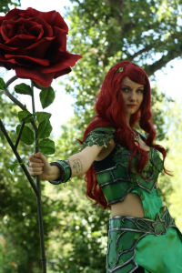 Badlands Cosplay as Poison Ivy