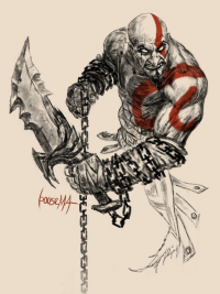Kratos from James Bousema