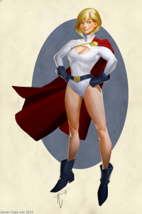 Power Girl from Devon Cady-lee