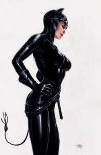 Catwoman from Edgar Tadeo