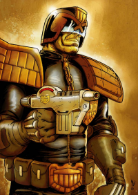 Judge Dredd from Matt Soffe