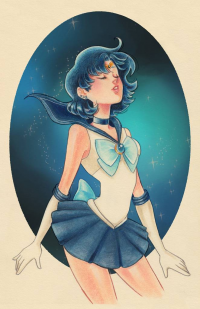 Sailor Mercury from Watertae