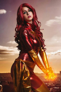 Juby Headshot as Dark Phoenix