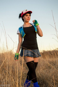 Unknown Female Artist as Ash Ketchum