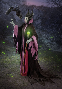 Ferasha Cosplay as Maleficent