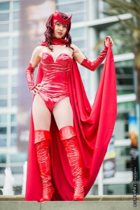 Vasher as Scarlet Witch