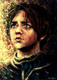 Arya Stark from To Slash A Twisted Line