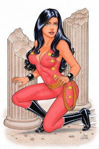 Wonder Girl from Dave Hoover