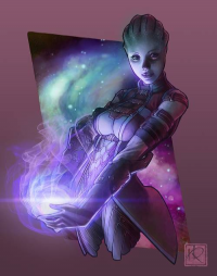 Liara T'Soni from Jacinthe )
