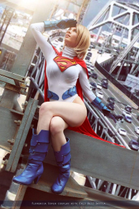 Florencia Jillian Sofen as Power Girl/Supergirl