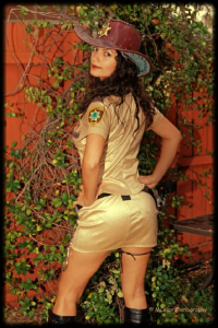 Ivy Cosplay as Rick Grimes