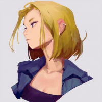 Android 18 from Samuel Youn