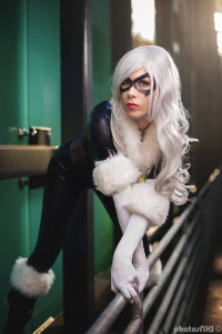 Katinka Cosplay as Black Cat