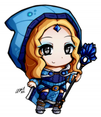 Crystal Maiden from atk402