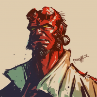 Hellboy from James Bousema