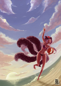 Ahri from Ariss18