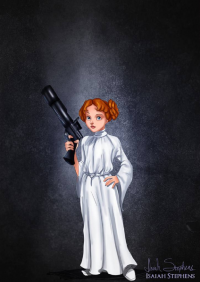 Wendy Darling/Leia Organa from Isaiah Stephens