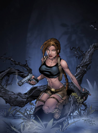 Lara Croft from Sean Ellery
