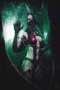 AsherWarr as Mileena