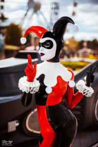 JasDisney as Harley Quinn