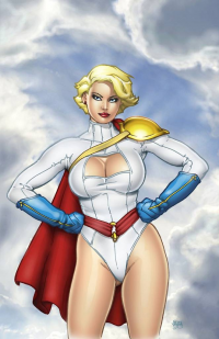 Power Girl from Greg