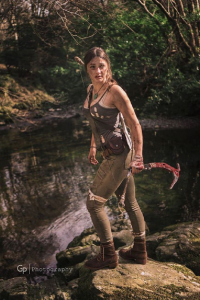 Bronte Cosplay as Lara Croft