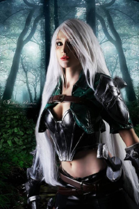 Archs Cosplay as Katarina