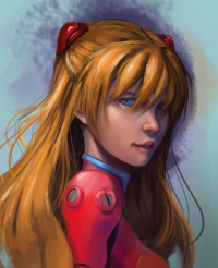 Asuka Langley Soryu from Brian Chan