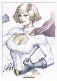 Power Girl from Stanley Lau