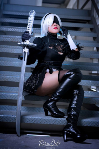 Eclipsa Cosplay as 2B