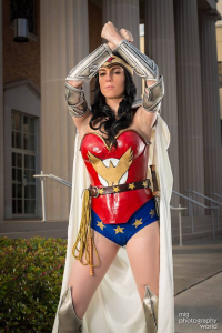 Kiki Aran as Wonder Woman