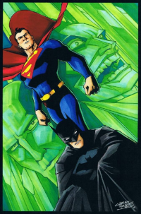Batman, Superman from Charles Holbert Jr.