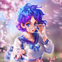 Sailor Mercury from Olga Narhova