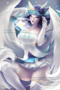 Ahri/Star Guardian from Customwaifus
