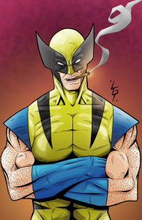 Wolverine from Lewis Gregory Tillett