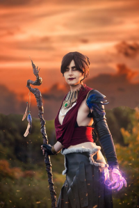 Star Leigh Cos as Morrigan