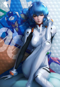 Rei Ayanami from Aranel Cosplay