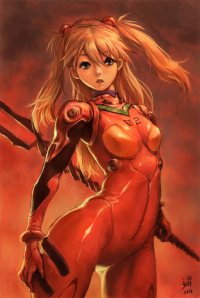 Asuka Langley Soryu from Kim Young Ho