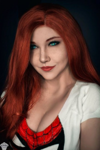 The Puddins Cosplay as Mary Jane Watson