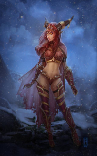 Alexstrasza from Michelle Hardy