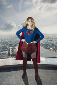 Star Leigh Cos as Supergirl