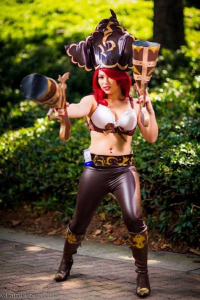 Yoshileigh as Miss Fortune