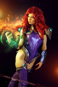 Florencia Jillian Sofen as Starfire