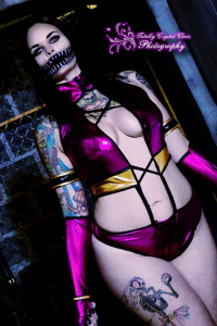 Sarah Claxton as Mileena