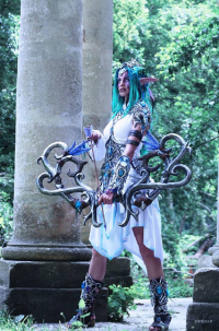 Ewenae Cosplay as Tyrande Whisperwind