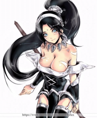 Nidalee/Maid from Relax 絵