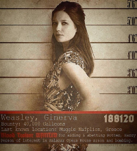 Ginny Weasley from Pragmatique
