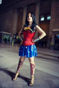 Northern Belle as Wonder Woman