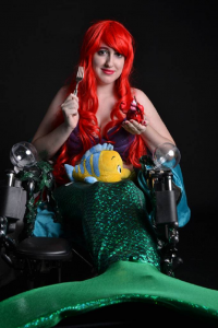 Ally Way Cosplay as Ariel