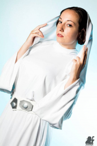 Amy Nicole as Leia Organa